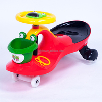 Popular car toy plasma car wiggle scooter/twist roller ride on plasma car