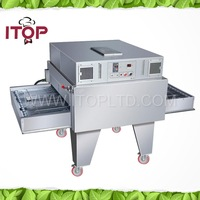 Industrial gas conveyor pizza oven for sale