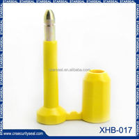XHB-017 new product plastic container bolt seals