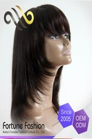iBeauty High quality New coming design wigs 100% human hair glueless silk top full lace wigs hot girl lovely wigs