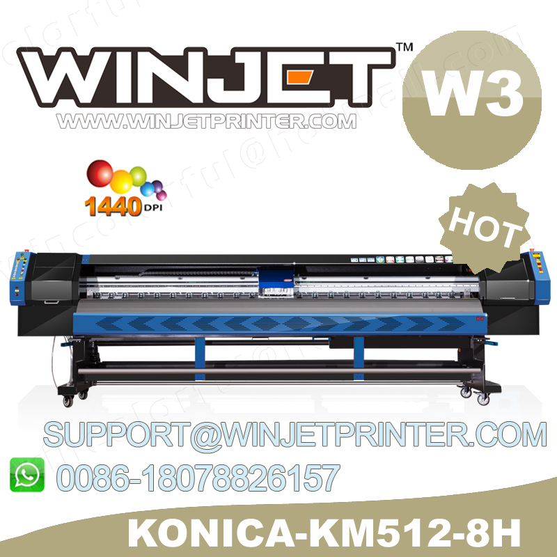 professional ink supply for digital large format china flex banner printer konica 512