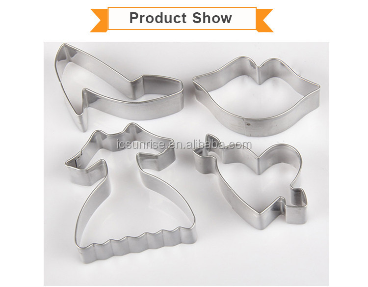 Factory Price Beautiful Stainless Steel Cookie Mold