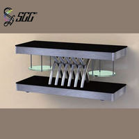 Removable Multi-Purpose Station for Buffet , Stainless Steel Structure Marble Top