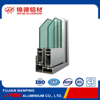 Best quality aluminum glass door and window frame