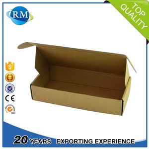 Wholesale Custom Printed Carton Packaging Shipping Box Kraft Paper Corrugated Box