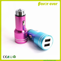 5V 2.4A Dual Universal Mini USB Car Charger 2Port, Dual USB Car Charger for All Devices Apple iPad 4 iPad mini iPhone 5 5s 6 6s
