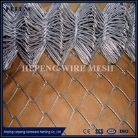 Dog kennel type chain link fence