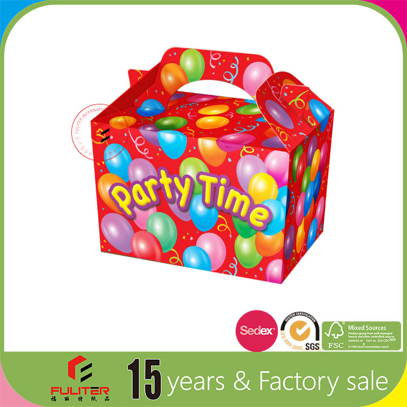 Wholesale small cute paper take away food box