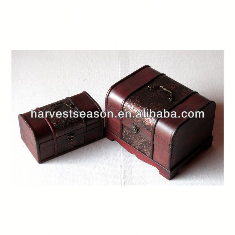 very hot sell cheap small wooden box from China's direct factory