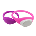 Cheap custom close type logo printing children tracking silicone rubber rfid wristbands