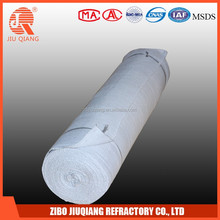 Refractory stainless steel wire reinforced ceramic fiber fabric