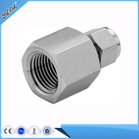 Stainless Steel Female Threaded Joint Coupling Hydraulic Pipe Fitting