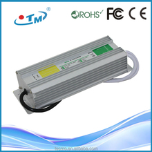 Unique workmanship 12v 24v waterproof led driver 36w with CE FCC RoHS