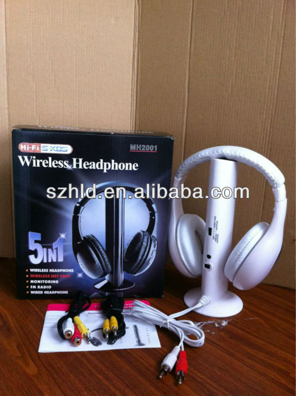 Cheapest headphone MH2001 with wireless monitoring