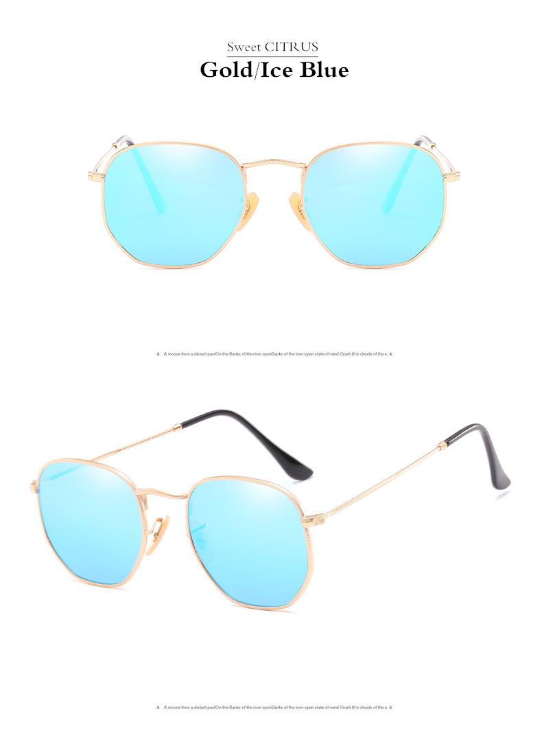 HTB16Aw7gBfH8KJjy1Xbq6zLdXXaf - Sweet CITRUS Hexagonal Aviation Coating Mirror Flat Lens Sunglasses Men Brand Designer Vintage Pink Driving Sun Glasses Women