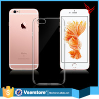 2016 new model light weight plastic cell phone case cover for iphone 6/6+/5s crystal clear tpu cell phone case