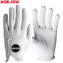 Men's Grip Golf Glove Leather Hybrid Golf Glove