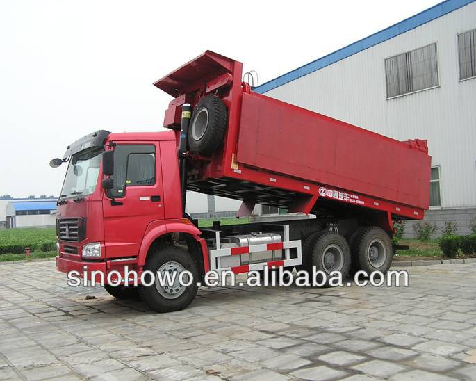 SINOTRUCK HOWO 8x4 Dump Trucks China Supplier For Asian