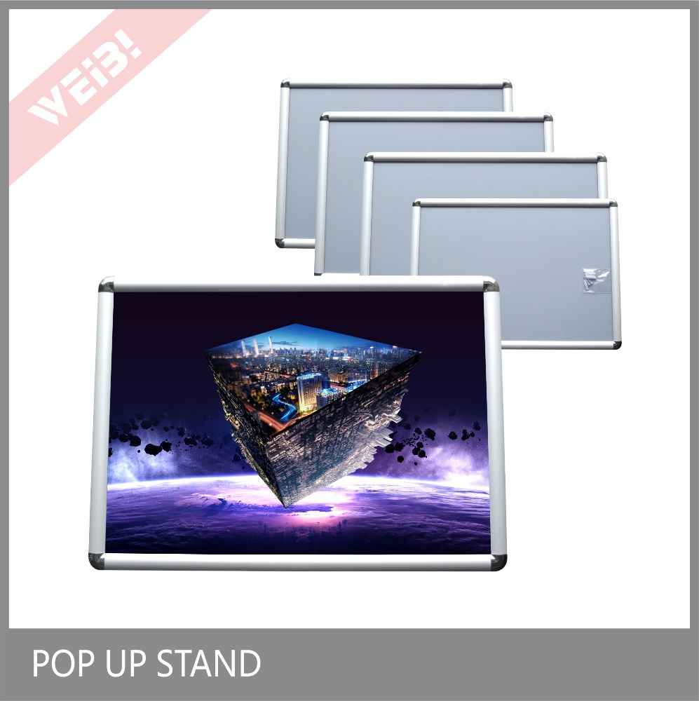 2017 Hot Sale Poster Display Snap Aluminum Photo Frame