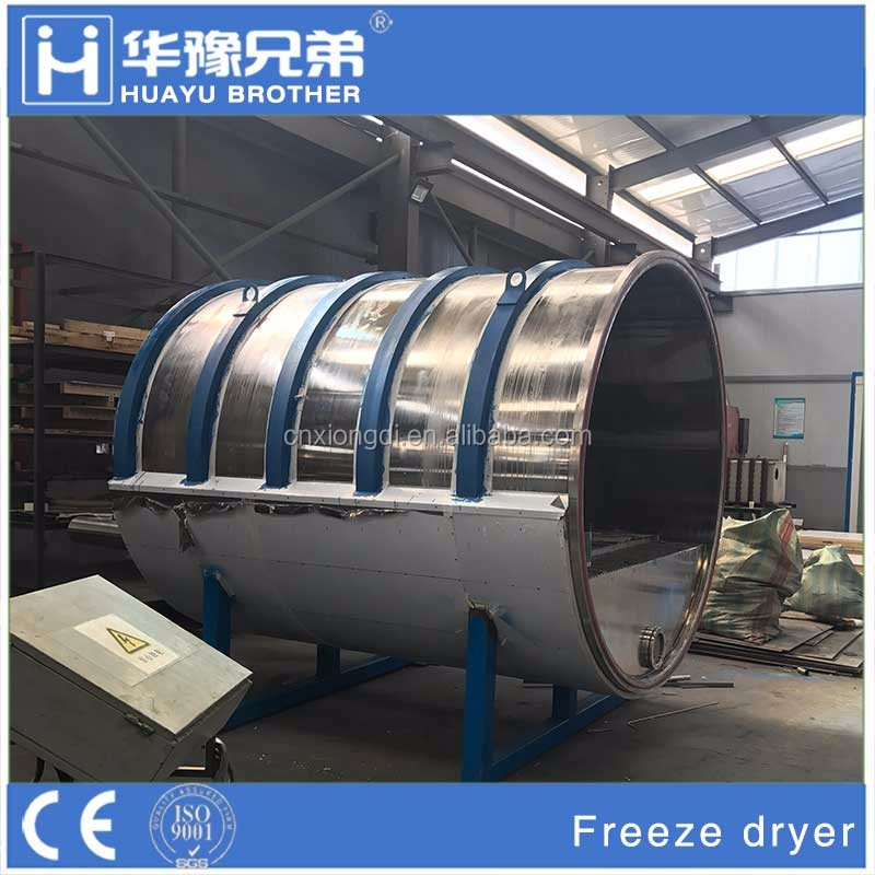200kg Ice Capacity Lyophilizer/Industrial Freeze Dryer