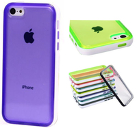 Ultra Thin Bumper Phone Shell Case Cover for iphone 5c
