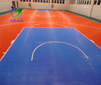 PP Interlock Tiles Basketball Floor Covering Tennis Flooring