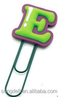 Office School funny Gift Bookmarks Cartoon Book Marks Paper Clip
