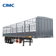 CIMC cattle transport fence vehicles trailer