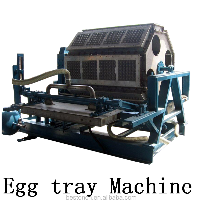 waste paper recycling paper pulp egg tray machine