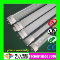 High lumen new design young tube 18w t8 led red tube xxx flexible led tube with CE RoHS UL DLC certified