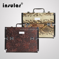 Wholesale Professional Aluminum Makeup Case Cosmetic Case