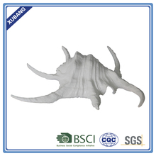 Poly resin promotion six legs shell decor Figurine