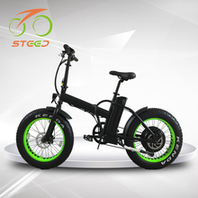 2017 new product china made folding 1000w big power fat tire electric bike with 48v battery