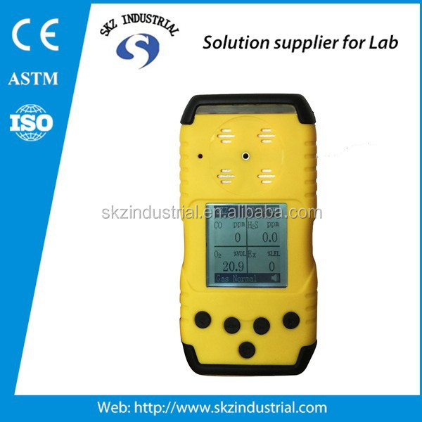4 gases in 1 gas detector combustible