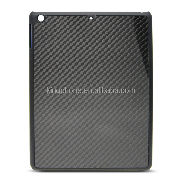 Customized PC cover carbon fiber cell phone case for iPad5, pc case
