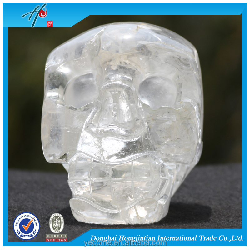Hand carved crystal available custom skull
