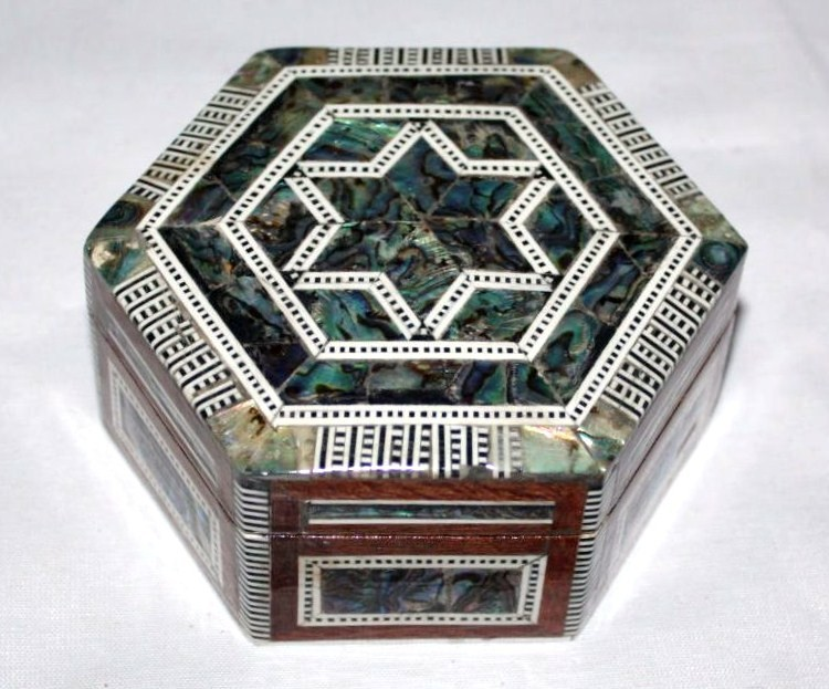 Jewelry & Gift Boxes-Mother of pearl