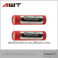 hot !!!!!! import electronic cores 18650 3.7v 2000mAh li-ion rechargeable battery from china