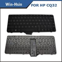 New Black US Laptop Keyboard For Hp Compaq Pavilion CQ32 G32 Presario DV3-4000 Series TM2 TM2T Computer Keyboard 596262-001