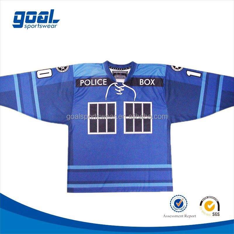 Customized made authentic wholesale 6xl korea hockey jersey