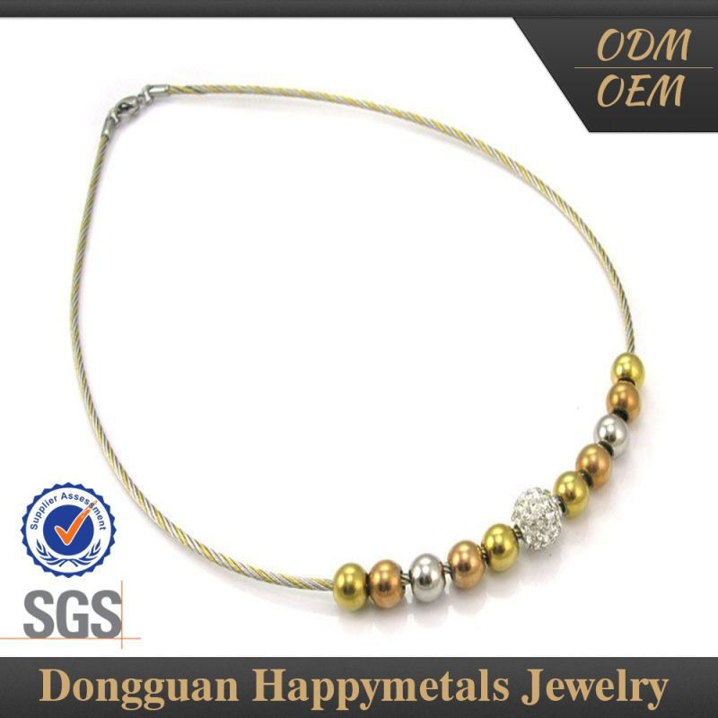Hotselling Best Price Newest Design Indian Ruby Beads Necklace