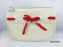 2012 fashion canvas make up bag,makeup bags for promotion