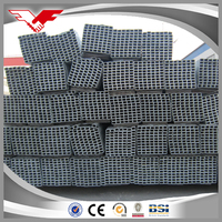BLACK SQUARE STEEL PIPE/TUBE BUILDING MATERIAL