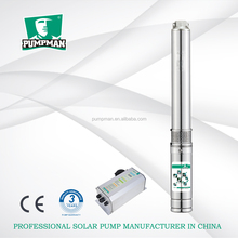 PUMPMAN new energy solar power 4HP dc submersible water pump