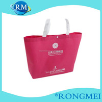Hot sale fashion pp nonwoven fabric shopping bag with printing,custom design and logo color,OEM orders are welcome