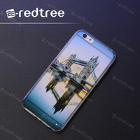 3D acrylic stylish tpu soft cell phone cover case