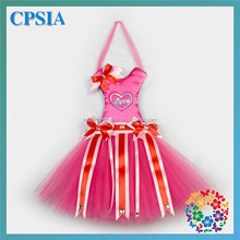 BQA-089 Beautiful Hottest Hot Pink Love Saint Valentine's Day Tutu Bow Holders Hair Bow Holders Wholesale