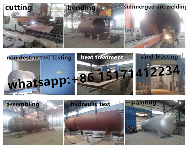 lpg gas filling tank truck mobile gas tank mounted truck bobtail