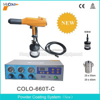 Laborator Test Powder Coating Unit Spray Gun COLO-660-T-C