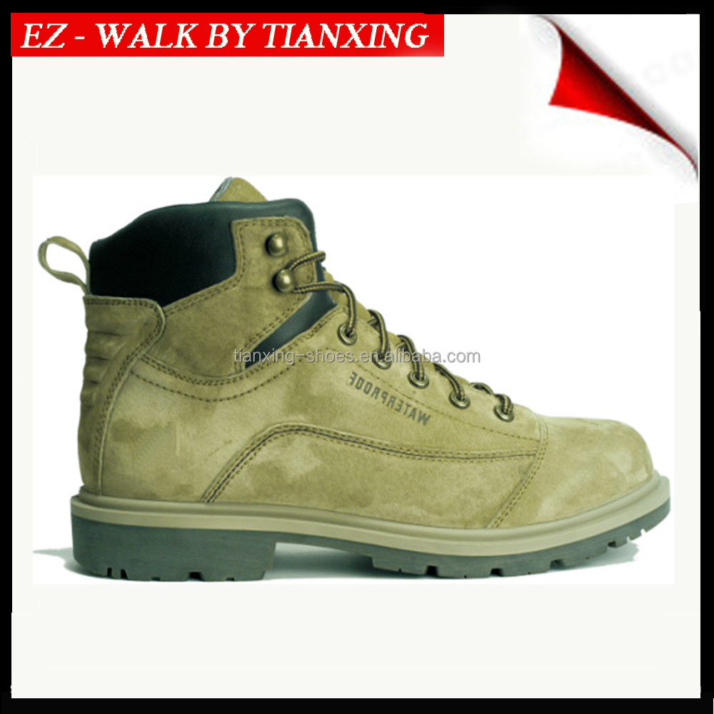 Black INJECTION SAFETY SHOES WITH STEEL TOE FOR MAN